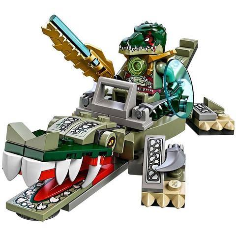 Bộ xếp hình Lego Chima 70126 - Cá Sấu Huyền Thoại với nội dung hấp dẫn