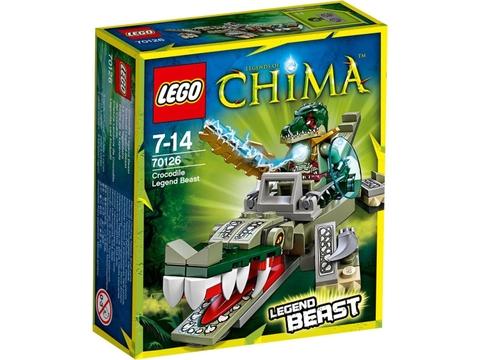 Hình ảnh bên ngoài sản phẩm Lego Chima 70126 - Cá Sấu Huyền Thoại