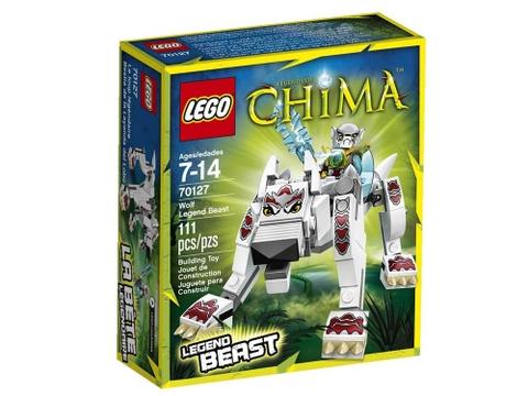 Hình ảnh vỏ hộp bộ xếp hình Lego Chima 70127 - Sói Huyền Thoại