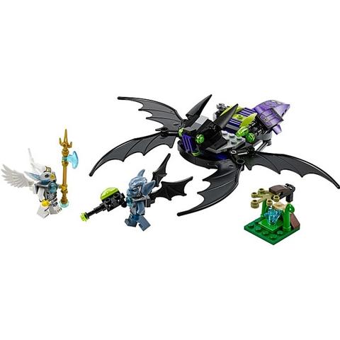 Các mô hình sẽ xuất hiện trong bộ đồ chơi Lego Chima 70128 - Máy Bay Chiến Đấu Dơi