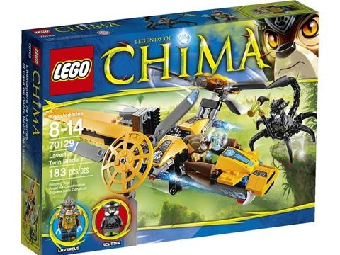 Hình ảnh vỏ hộp đựng Lego Chima 70129 - Trực Thăng Của Lavertus