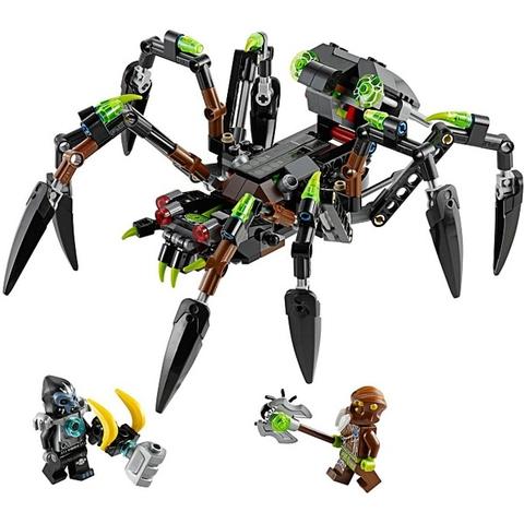 Các chi tiết xuất hiện trong bộ xếp hình Lego Chima 70130 - Cỗ Máy Nhện Khổng Lồ