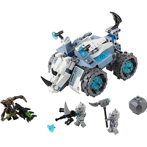 Lego Chima 70131 - Máy Bắn Đá của Rogon tái hiện bối cảnh sinh động