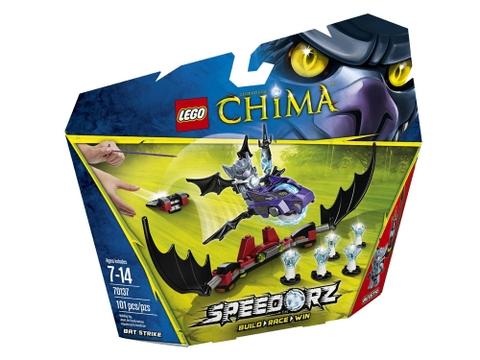 Hình ảnh vỏ hộp bên ngoài sản phẩm Lego Chima 70137 - Dơi Tấn Công