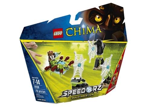 Hình ảnh bên ngoài sản phẩm Lego Chima 70138 - Lưới Nhện