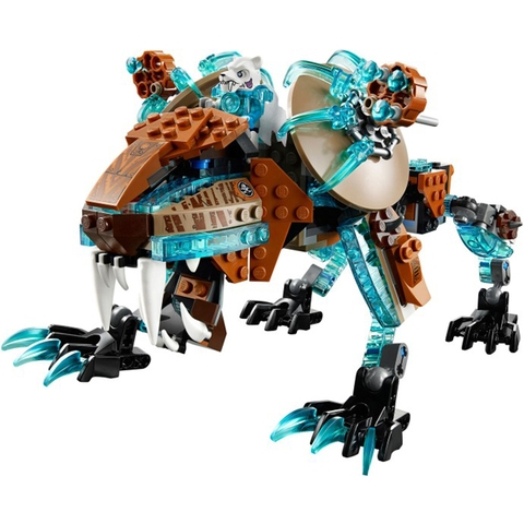 Nhiệm vụ thú vị cho bé trong bộ đồ chơi Lego Chima 70143 - Cỗ Máy Chiến Đấu của Hổ Băng