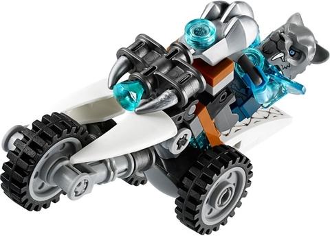 Mô hình Lego Chima 70143 - Cỗ Máy Chiến Đấu của Hổ Băng ấn tượng co bé tha hồ sáng tạo