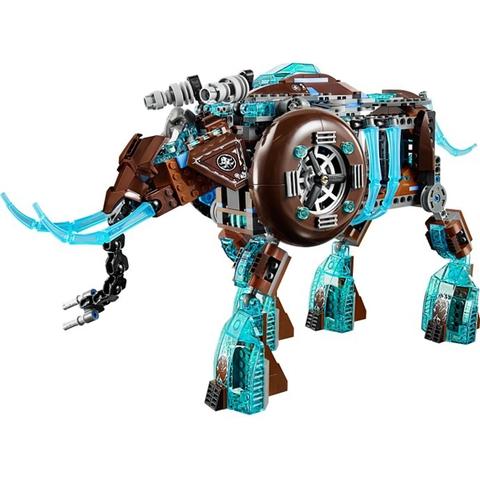 Bé tha hồ tưởng tượng với mô hình Lego Chima 70145 - Cỗ Máy Chiến Đấu Ma Mút