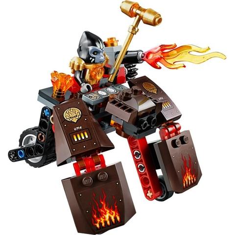 Nhựa ABS nguyên sinh được sử dụng trong Lego Chima 70147 đảm bảo an toàn cho trẻ em