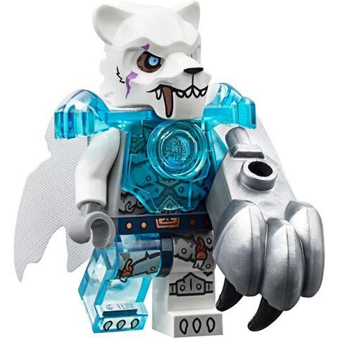 Bé tha hồ phát huy trí tưởng tượng với bộ xếp hình Lego Chima 70147 - Rừng Băng Của Lãnh Chúa Fangar