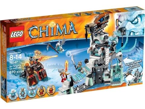Hình ảnh vỏ hộp sản phẩm Lego Chima 70147 - Rừng Băng Của Lãnh Chúa Fangar