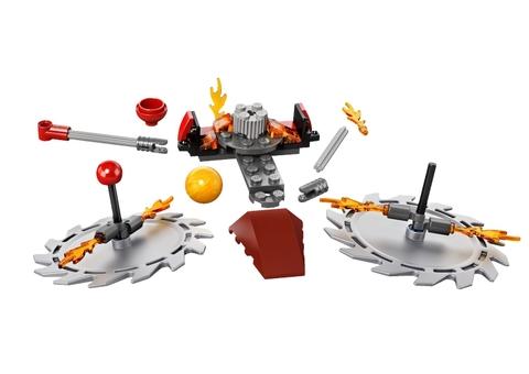 Cho bé chơi Lego Chima 70149 - Thử Thách Lưỡi Cưa sẽ phát triển khả năng tư duy cho bé