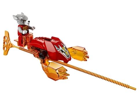 Lego Chima 70149 - Thử Thách Lưỡi Cưa được làm từ nhựa tuyệt đối an toàn cho bé