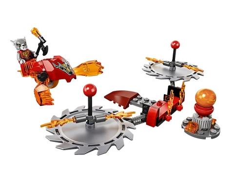 Bộ xếp hình Lego Chima 70149 - Thử Thách Lưỡi Cưa cho bé được tham gia nhiều vụ hấp dẫn