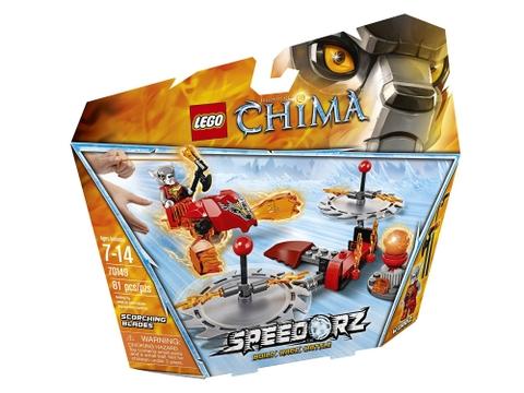 Hình ảnh bên ngoài sản phẩm Lego Chima 70149 - Thử Thách Lưỡi Cưa
