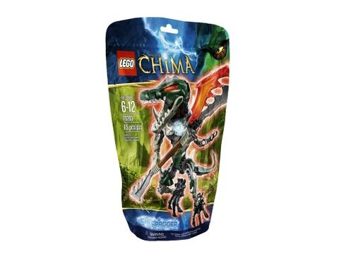Hình ảnh bên ngoài bộ đồ chơi Lego Chima 70203 - CHI Cragger