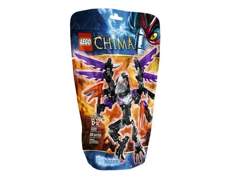 Vỏ ngoài thực tế sản phẩm Lego Chima 70205 - CHI Razar