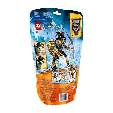 Bộ xếp hình Lego Chima 70208 - Chiến Binh Lửa Panthar giúp phát triển kỹ năng cho trẻ nhỏ