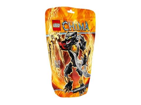 Vỏ hộp bên ngoài bộ đồ chơi Lego Chima 70208 - Chiến Binh Lửa Panthar