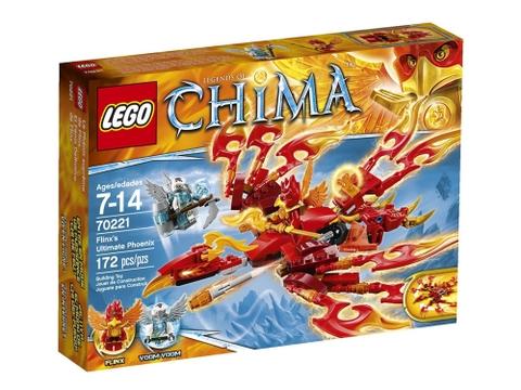 Bộ Lego Chima 70221 - Cỗ máy phượng hoàng của Flinx dành cho các bé 7 -14 tuổi tha hồ khám phá cuộc phiêu lưu cùng những mô hình rất hấp dẫn