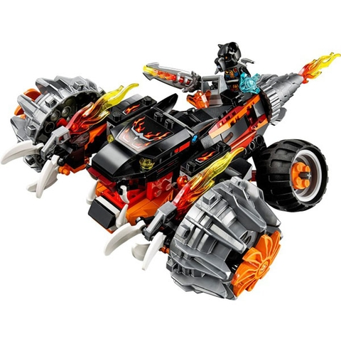 Mô hình Lego Chima 70222 - Xe Chiến Đấu Của Tormak với nhiều chi tiết đòi hỏi bé phải vận dụng óc sáng tạo