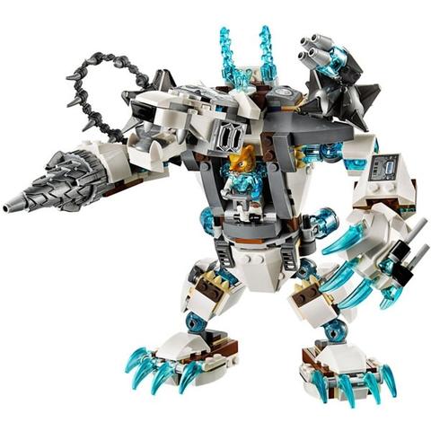 Bé sẽ phát triển khả năng sáng tạo và trí tưởng tượng bay cao bay xa hơn với bộ đồ chơi Lego Chima 70223 - Máy Khoan Băng Giá