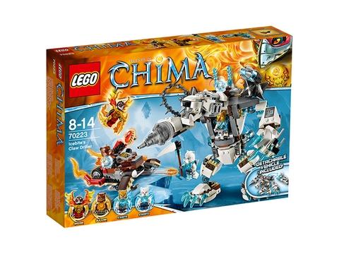 Hình ảnh vỏ hộp đựng bên ngoài Lego Chima 70223 - Máy Khoan Băng Giá