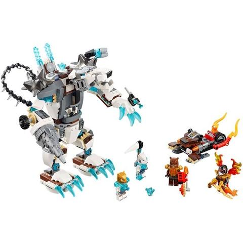 Tập hợp các chi tiết thiết kế tinh xảo trong Lego Chima 70223 - Máy Khoan Băng Giá
