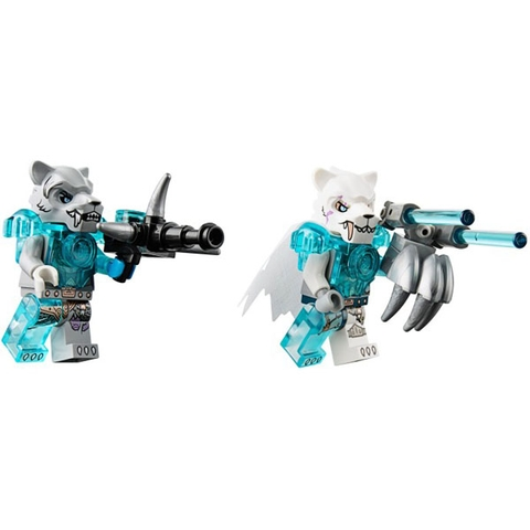 Các mảnh ghép Lego Chima 70224 - Biệt Đội Cơ Động Hổ được làm từ chất liệu an toàn