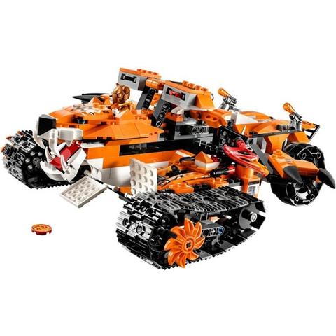 Khám phám bối cảnh cực hấp dẫn trong bộ Lego Chima 70224 - Biệt Đội Cơ Động Hổ
