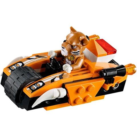 Thiết kế công phu, tỉ mỉ đến từng chi tiết trong Lego Chima 70224