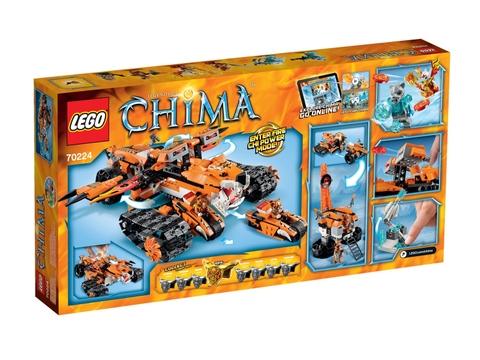 Hình ảnh vỏ ngoài sản phẩm Lego Chima 70224 - Biệt Đội Cơ Động Hổ
