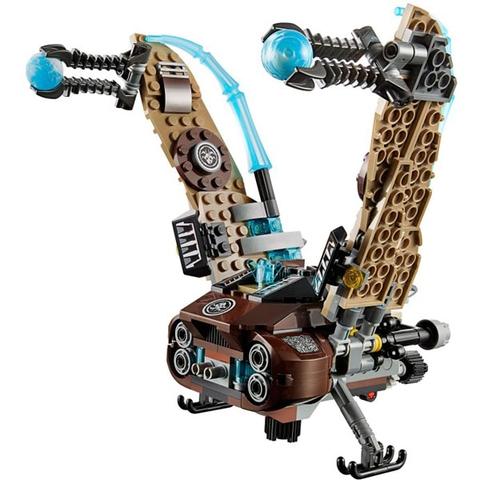 Mô hình tuyệt đẹp trong bộ Lego Chima Biệt đội không kích kền kền sẽ giúp bé rèn luyện khả năng sáng tạo và học thêm nhiều kĩ năng bổ ích mới lạ