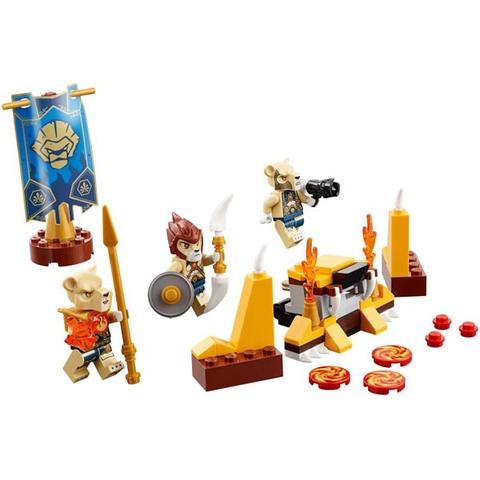 Các mô hình được tạo thành trong Lego Chima 70229 - Bộ Tộc Sư Tử