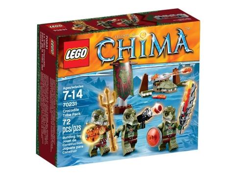 Vỏ hộp Lego Chima 70231 - Bộ Tộc Cá Sấu