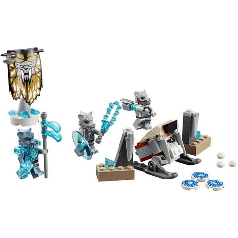 Các mô hình ấn tượng trong bộ Lego Chima 70232 – Bộ tộc hổ nanh kiếm