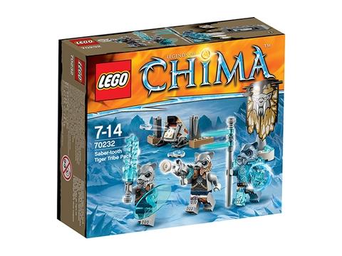 Hình ảnh vỏ hộp bộ Lego Chima 70232 – Bộ tộc hổ nanh kiếm