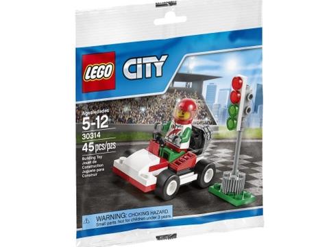 Hình ảnh bên ngoài sản phẩm Lego City 30314- Tay đua Kart