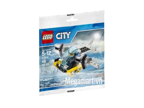 Lego City 30346 - Trực thăng cảnh sát biển Vỏ hộp