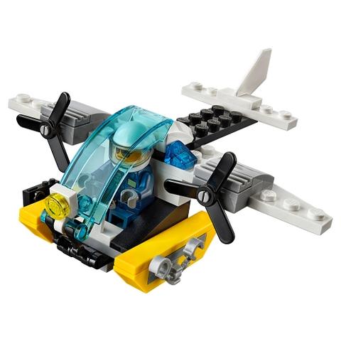 Lego City 30346 - Trực thăng cảnh sát biển chi tiết