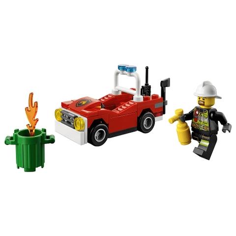 Mô hình sinh động của bộ đồ chơi Lego City 30347 - Xe Cứu Hỏa