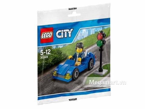 Hình ảnh vỏ hộp bộ Lego City 30348 - Chú Công nhân Vệ sinh