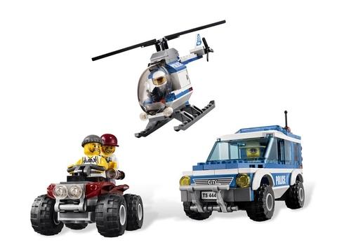 Các mô hình Lego City 4440 - Trạm Kiểm Lâm, được thiết kế tỉ mỉ, chân thực