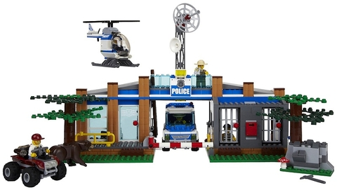 Mô hình Lego City 4440 - Trạm Kiểm Lâm thú vị, mang đến nhiều trải nghiệm mới mẻ cho bé