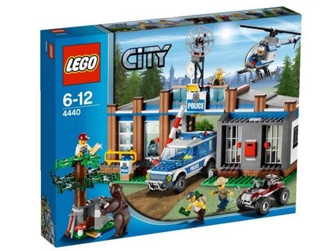 Hình ảnh bên ngoài bộ sản phẩm Lego City 4440 - Trạm Kiểm Lâm