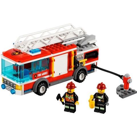 Mô hình Lego City 60002 - Xe Cứu Hỏa độc đáo