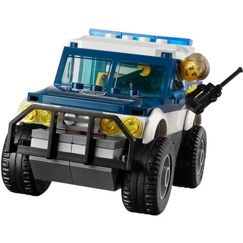 Bộ xếp hình Lego City 60007 - Đuổi Bắt Tốc Độ với cuộc rượt đuổi gay cấn