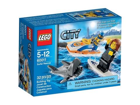Hình ảnh bên ngoài của sản phẩm Lego City 60011 - Cứu Hộ Khẩn Cấp