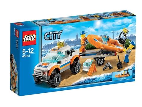 Hình ảnh hộp đựng bên ngoài sản phẩm Lego City 60012 - Xe Chở Canô