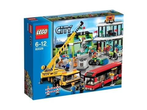 Hình ảnh bên ngoài sản phẩm Lego City 60026 - Quảng trường thành phố